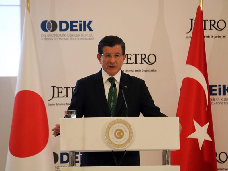Başbakan Davutoğlu ve Blair Buluşması