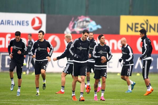 Başiktaş Sivasspor Hazırlıklarına Devam Ediyor