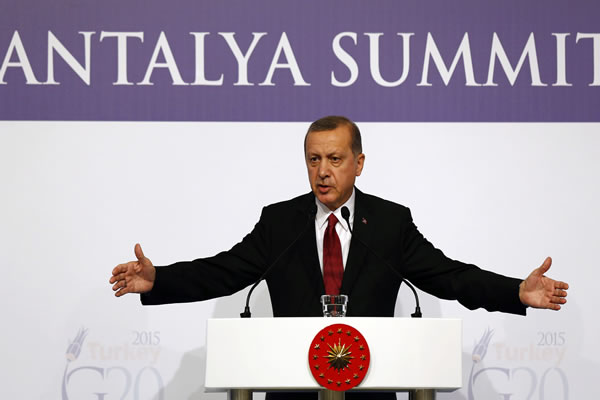 Cumhurbaşkanı ERDOĞAN G-20'de Konuştu
