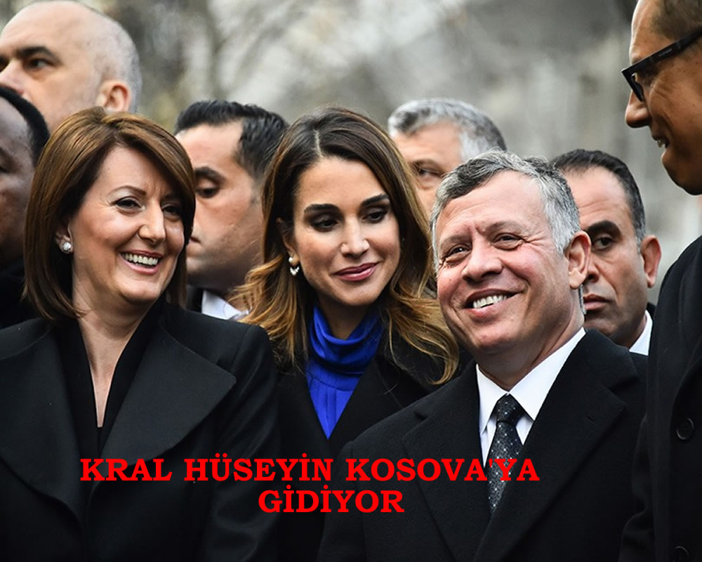 Ürdün Kralı Kosova'ya Geliyor