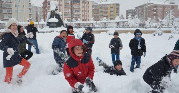 6 İl'de Kar Tatili