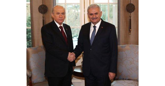 AK Parti ile MHP Başkanlık Sistemini Görüşecek