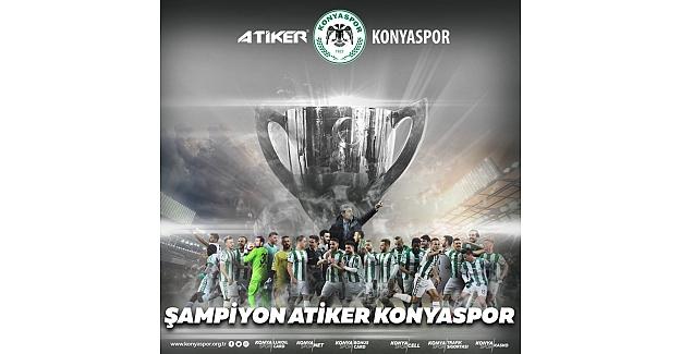 Türkiye Kupasında Şampiyon Konyaspor