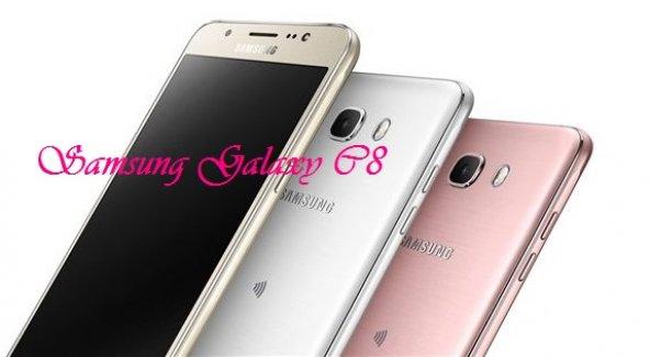 Samsung Yeni Akıllı Telefonu Galaxy C8'i Tanıttı