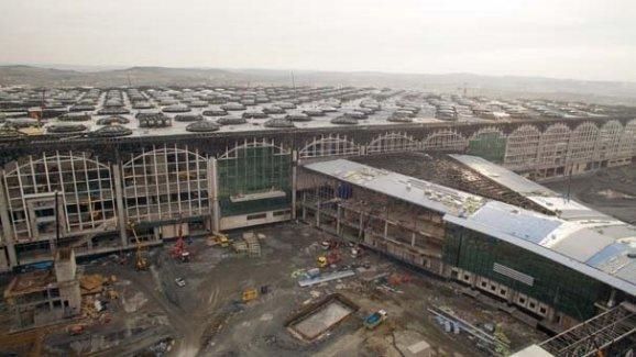 3. Havalimanının Yüzde 73'ü Tamamlandı