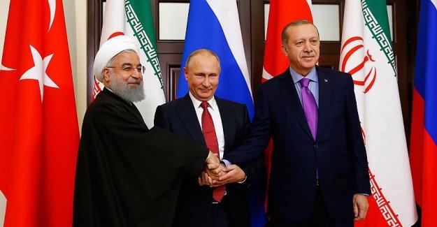 Soçi'de Türkiye- Rusya- İran 3'lü Zirvesi