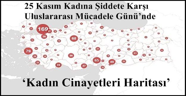 Türkiye'de Kadın Cinayetlerinde Bayburt ''0'' Rakamıyla Yüz Güldüren Tek İl