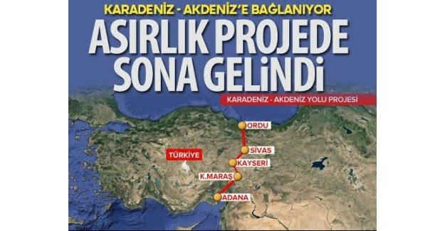 142 Yıllık Rüya: Karadeniz Akdeniz Yolu Projesi Tamamlanıyor!