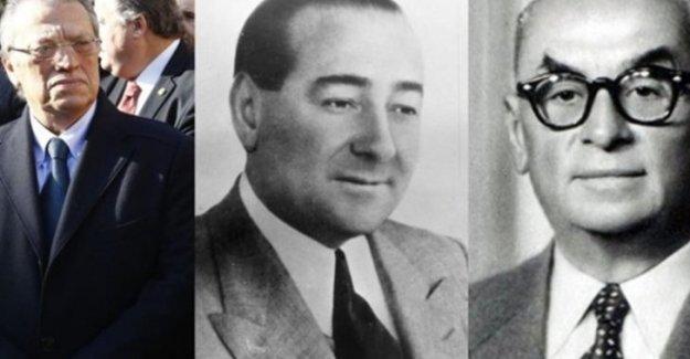 Mesut Yılmaz- Celal Bayar- Adnan Menderes: Üç Başbakan- Üç Oğul- Üç İntihar !