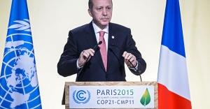Cumhurbaşkanı Erdoğan, İklim Değişikliği Zirvesi'nde Aile Fotoğrafında