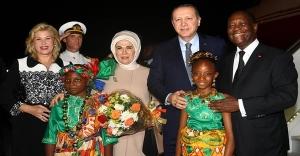 Cumhurbaşkanı Erdoğan Batı Afrika Seyahatine Çıktı