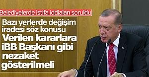 Erdoğan'dan 3 Belediye Başkanına İstifa Çağrısı