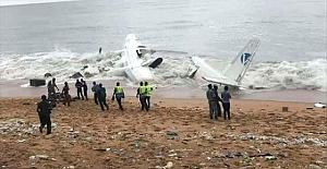 Fildişi Sahili'nde Fransız Kargo Uçağı Düştü: 4 Ölü