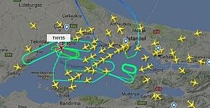 THY Uçağı Acil İniş İçin İstanbul Üzerinde 7 Saat 20 Dakika Tur Attı
