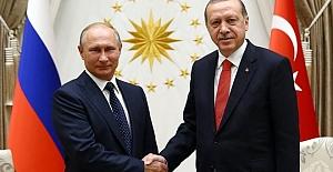 Erdoğan- Putin Görüşmesi