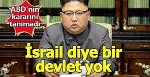 Kuzey Kore'den ABD'ye Sert Tepki: '' İsrail Devlet Mi Ki Başkenti Kudüs Olsun? ''